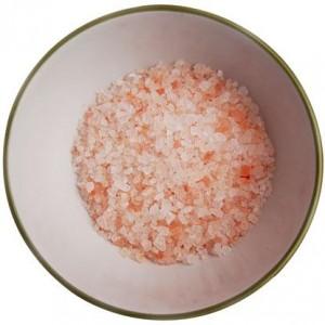 Himalayan crystal salt. You can buy coarse or fine.