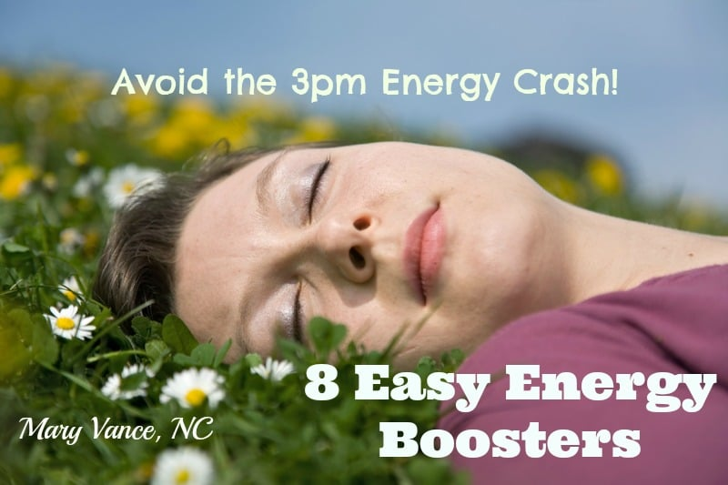 Eight Easy & Natural Energy Boosts