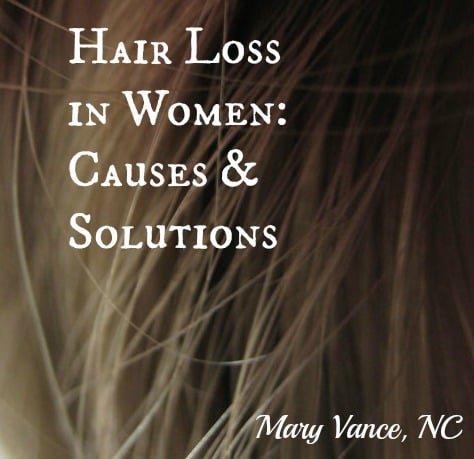 Solutions for Hair Loss in Women