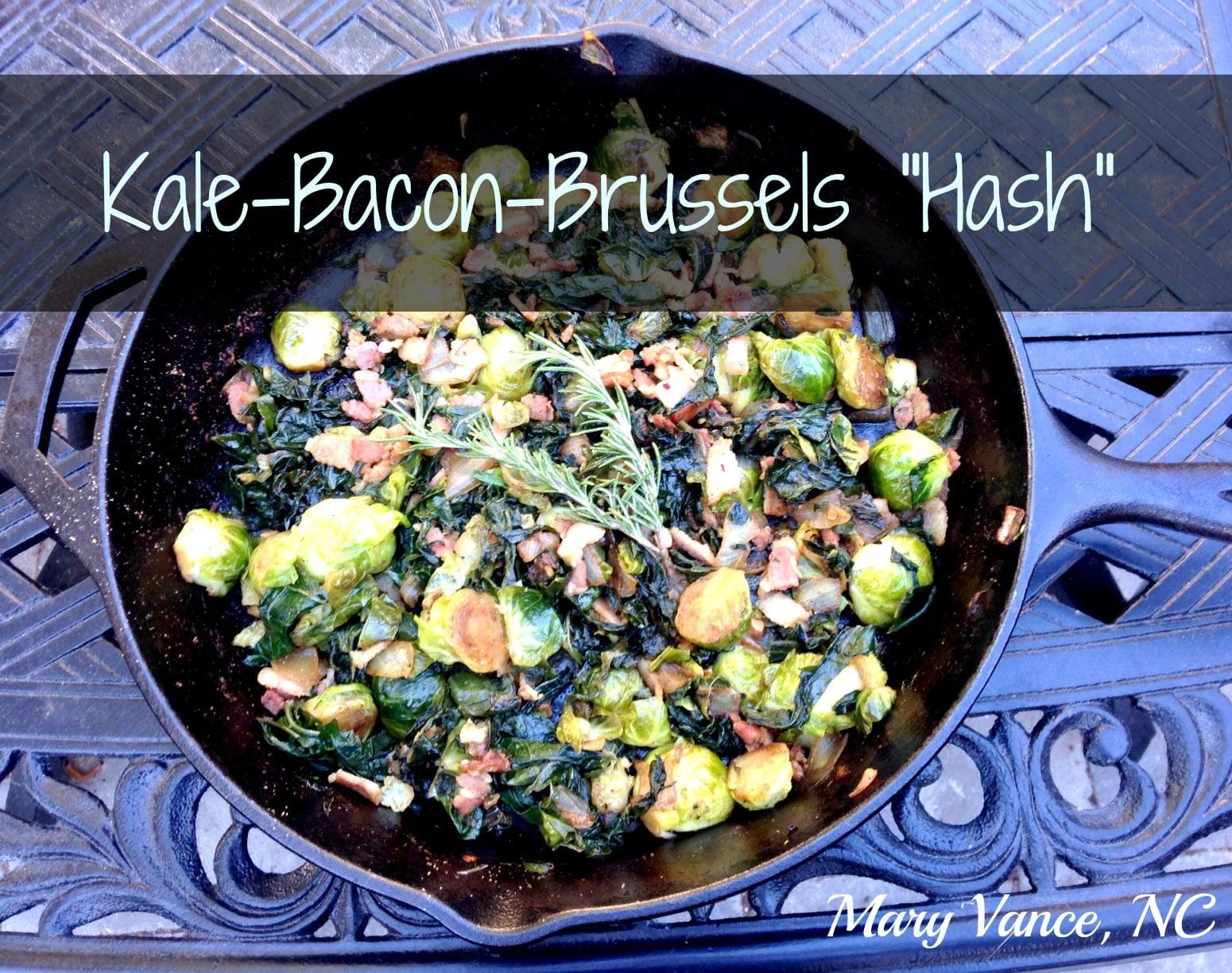 """Kale-Bacon-Brussels """"Hash"""" (Autoimmune Friendly)"""