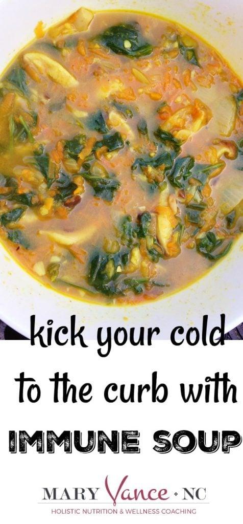 Immune Soup to Beat Illness--Mary Vance, NC (gluten free & paleo)