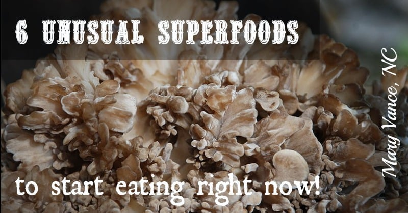 6 Unusual Superfoods