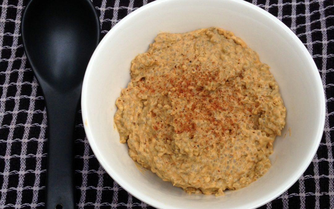 Pumpkin Spice Chia Pudding (Paleo, Egg free)