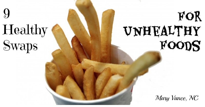 9 Healthy Swaps for Unhealthy Foods