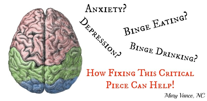 Anxiety? Depression? Binge Eating? Fixing This Critical Piece Can Help.