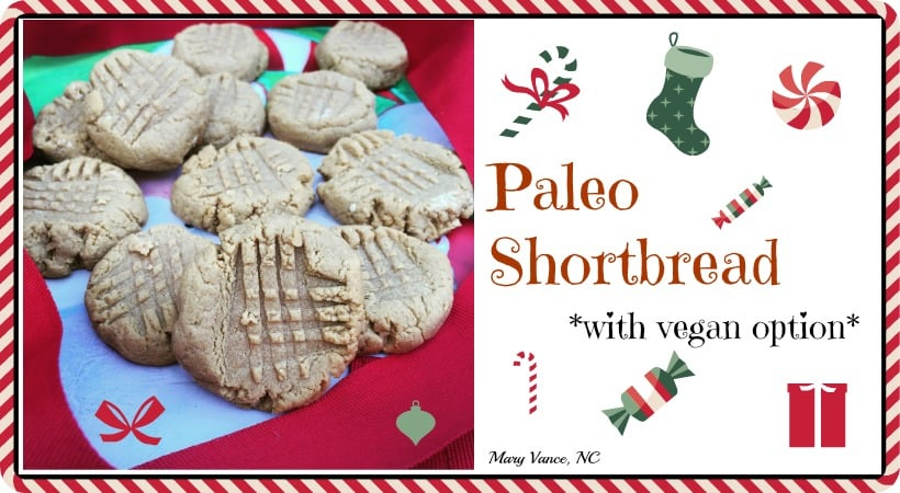 Paleo Shortbread (with Vegan Option)