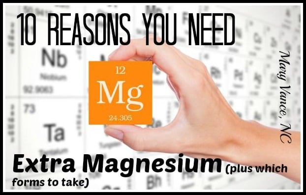 10 Reasons You Need Magnesium