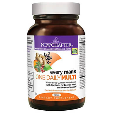 New Chapter Men's Multivitamin