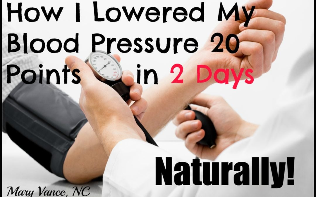 How I Lowered My Blood Pressure in Two Days