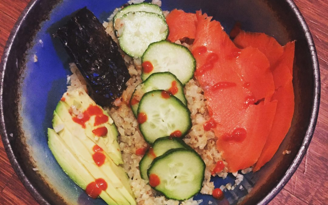 Fast, Healthy Meal: Rice Bowl (Grain Free Option Included)