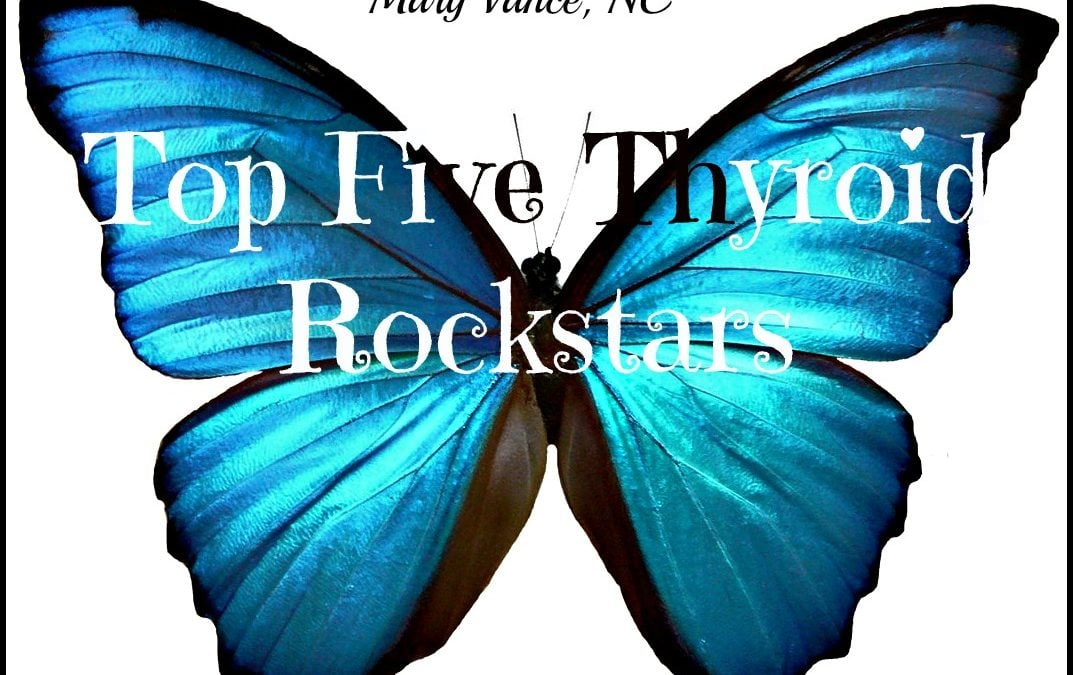 Five Rockstars for Optimal Thyroid Function
