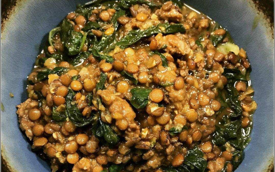 Lentil Chard Stew