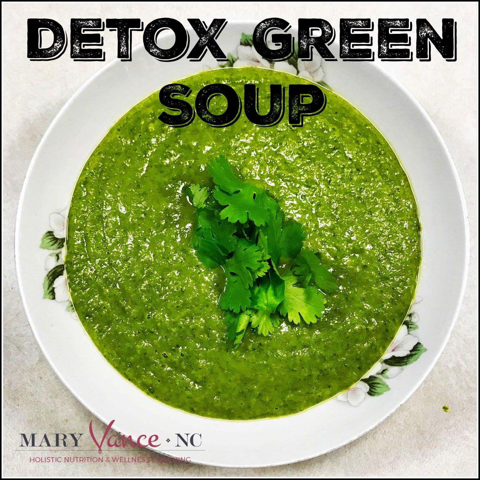Marvelous Everything But The Kitchen Sink Detox Green Soup Interior Design Ideas Gentotryabchikinfo