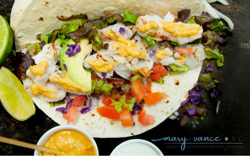 Fast, Easy, Mind-blowing Fish Tacos