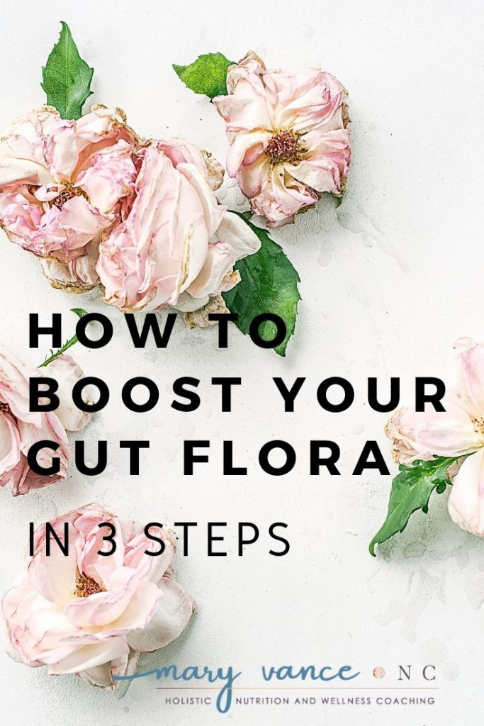 Boost Your Gut Flora--Mary Vance, NC