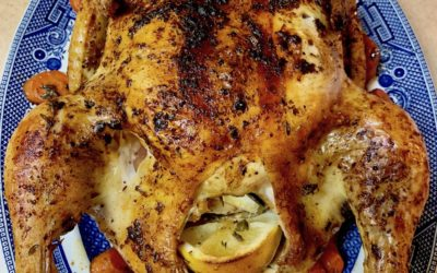 Easy Roasted Chicken in the Cast Iron Skillet