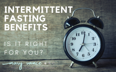 Top Five Benefits of Intermittent Fasting