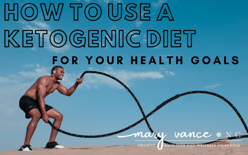 How to Use a Ketogenic Diet for Your Health Goals
